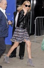 CHARLIZE THERON at Good Morning America in New York