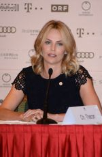 CHARLIZE THERON at Life Ball Press Conference in Vienna