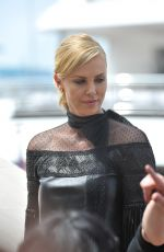 CHARLIZE THERON at Mad Max: Fury Road Photocall in Cannes