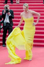 CHARLIZE THERON at Mad Max: Fury Road Premiere at Cannes Film Festival