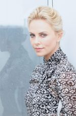 CHARLIZE THERON at Mad Max: Fury Road Press Conference