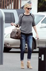 CHARLIZE THERON Out and About in Hollywood 05/26/2015