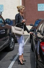 CHARLOTTE MCKINNEY at DWTS Rehersal Studio in Hollywood 05/15/2015