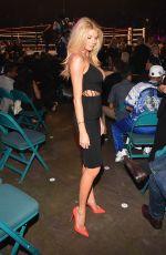 CHARLOTTE MCKINNEY at Mayweather vs Pacquiao Boxing Match in Las Vegas