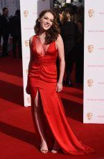 CHARLOTTE SPENCER at BAFTA 2015 Awards in London