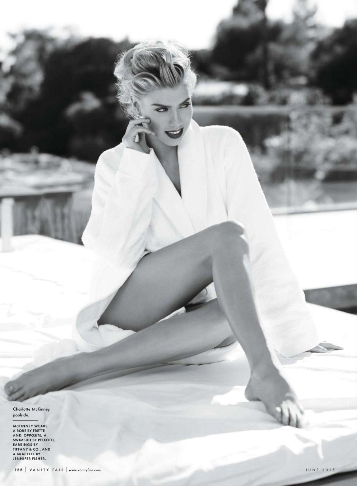 CHARLOYYE MCKINNEY in Vanity Fair Magazine