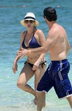 CHELSEA HANDLER in Bikini on the Beach in Bahamas 05/22/2015