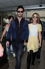 CHERYL COLE at Airport in Nice 05/14/2015