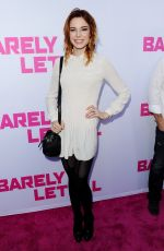 CHLOE DYKSTRA at Barely Lethal Premiere in Los Angeles