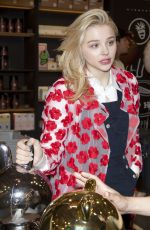 CHLOE MORETZ at Line Flagship Store Photocall in Seoul
