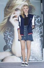 CHLOE MORETZ at Meet & Greet at Sbenu in Seoul