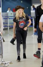CHLOE MORETZ Heading to LAX Airport in Los Angeles 05/13/2015