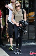 CHLOE MORETZ Leaves Bowery Hotel in New York 05/05/2015