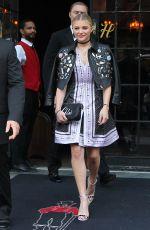CHLOE MORETZ Leaves Her Hotel in New York 05/04/2015