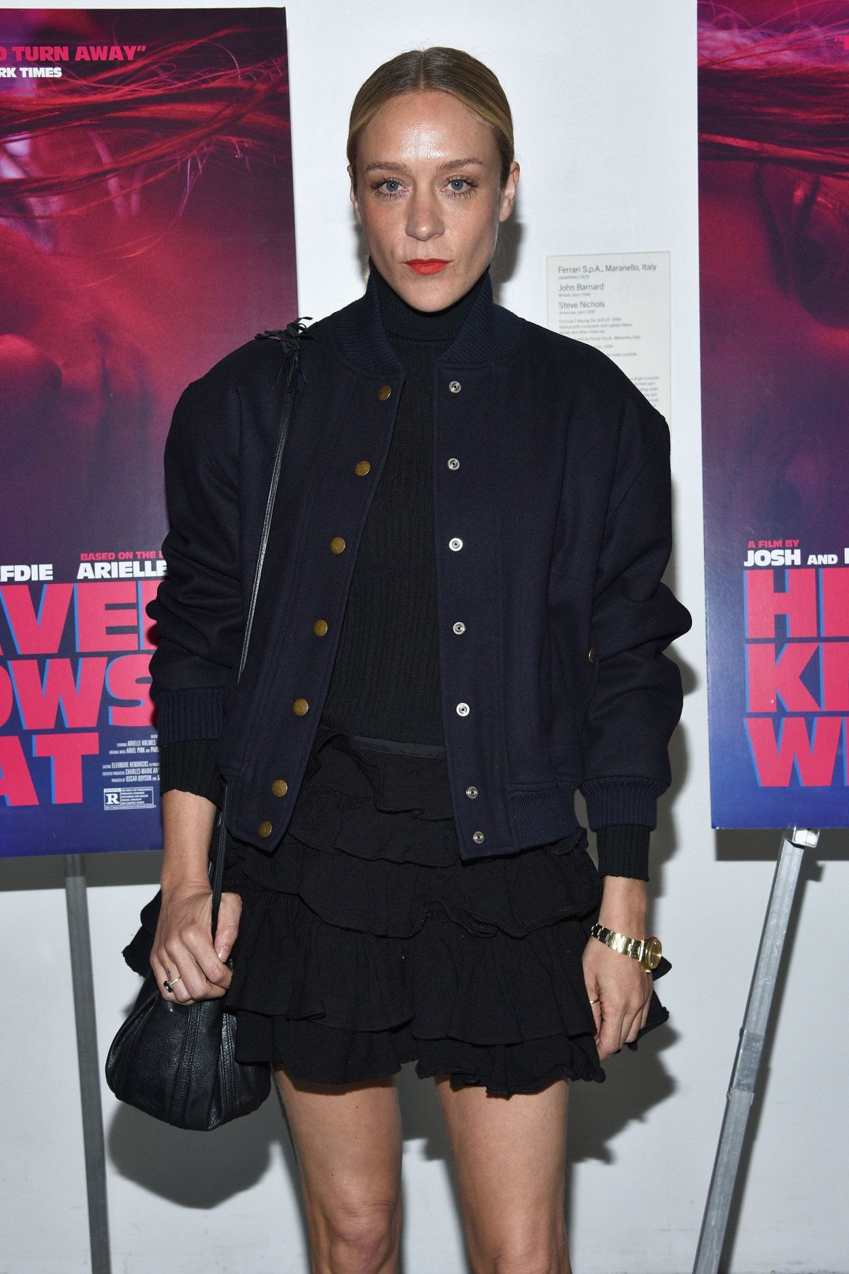 CHLOE SEVIGNY at Heaven Knows What Premiere in New York
