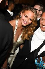 CHRISSY TEIGEN at MET Gala After Party in New York