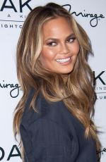 CHRISSY TEIGEN Hosts a Pre-billboard Music Award Celebration in Las Vegas