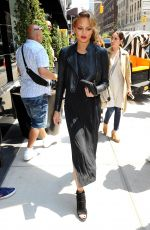CHRISSY TEIGEN Out and About in New York 05/04/2015