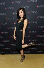 CHRISTINA GRIMMIE at Macy