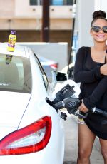 CHRISTINA MILIAN at a Gas Station in Studio City 05/15/2015