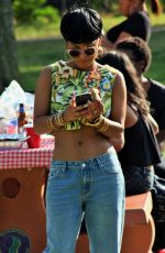 CHRISTINA MILIAN at a Memorial Day Cookout in Studio City