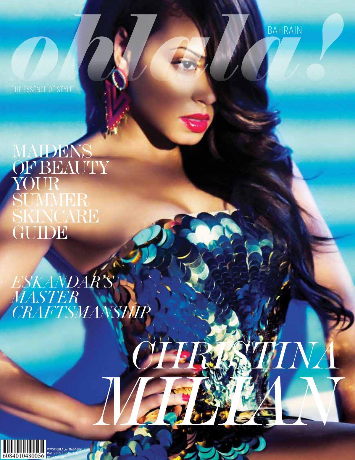 CHRISTINA MILIAN in Ohlala Magazine, May 2015 Issue