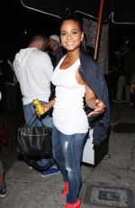 CHRISTINA MILIAN Leaves a Club in Hollywood 05/27/2015