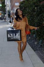 CHRISTINA MILIAN Shopping at Kyle Boutique in Beverly Hills 04/30/2015