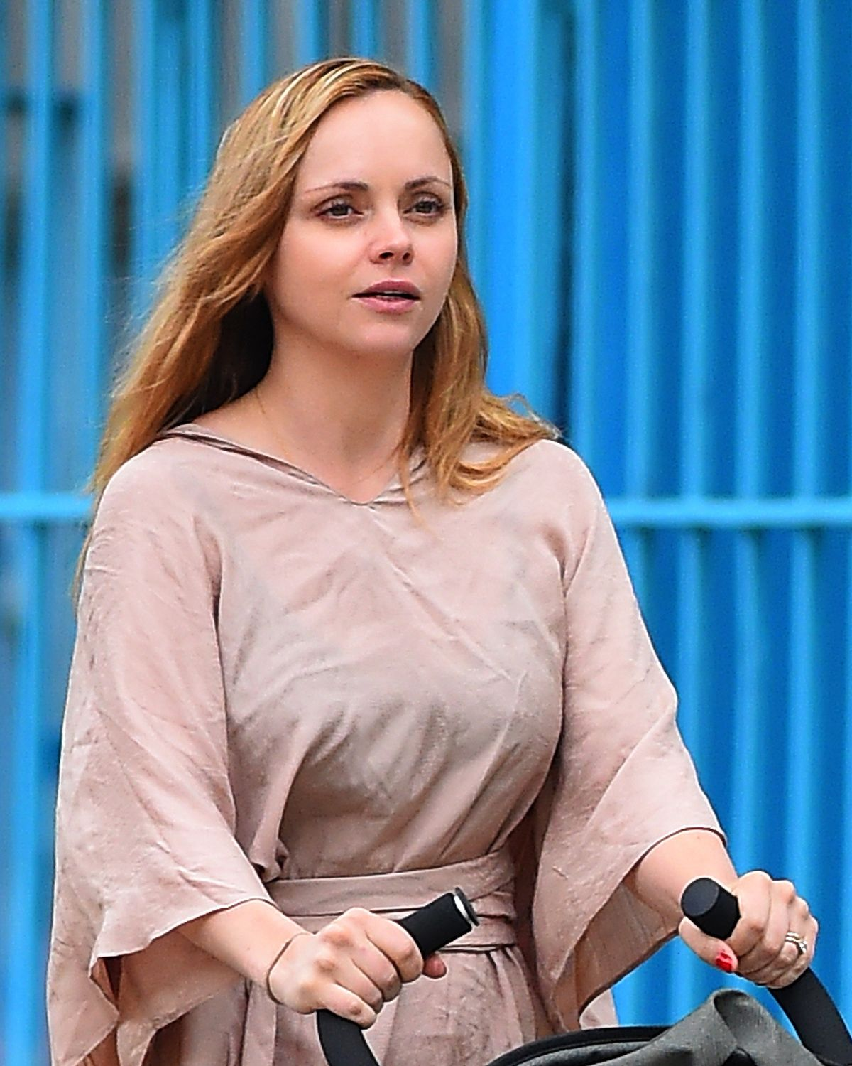 CHRISTINA RICCI Out and About in Brooklyn 05/18/2015