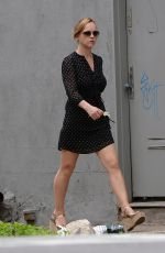 CHRISTINA RICCI Out and About in New York 05/10/2015
