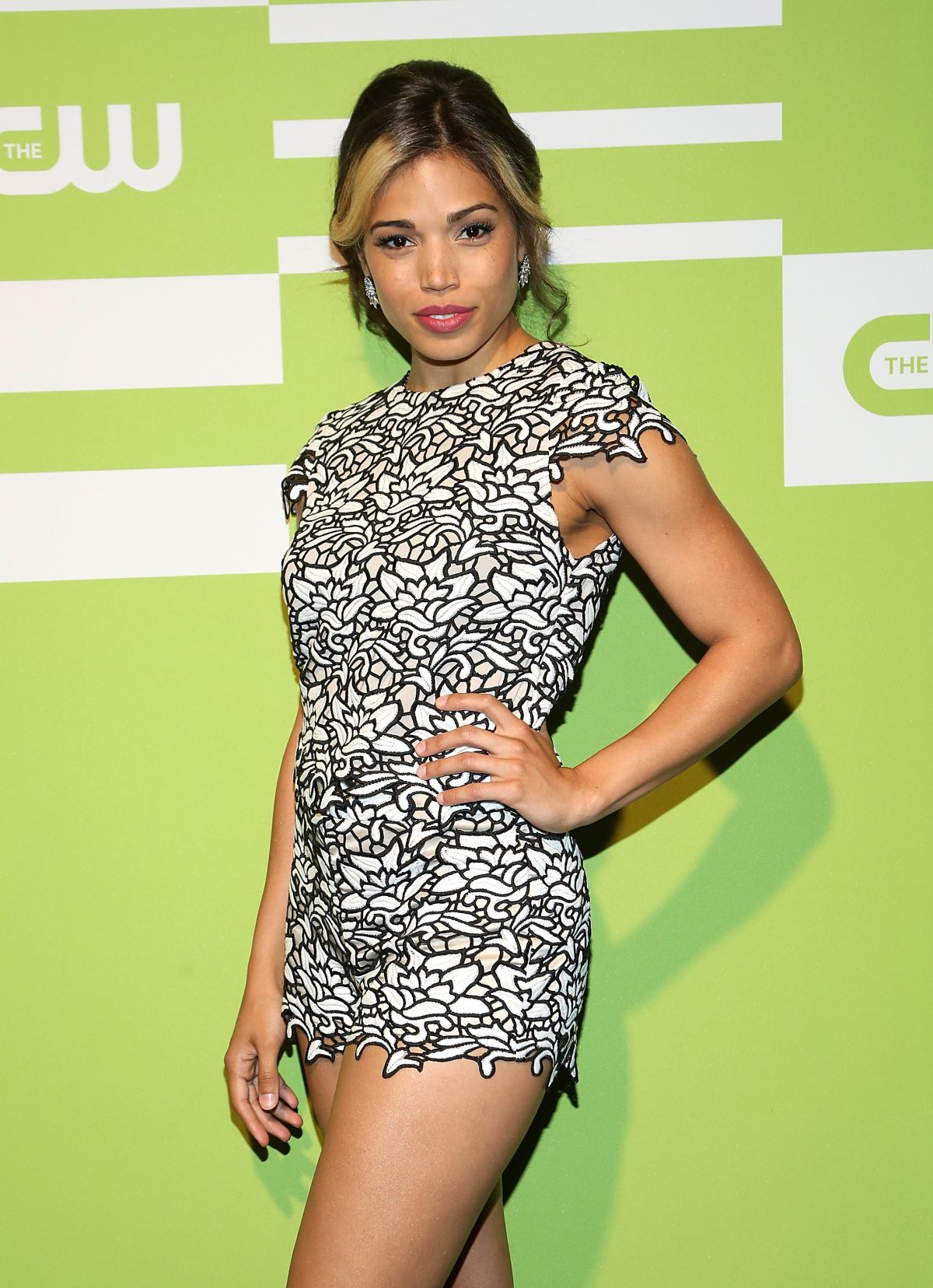 CIARA RENEE at CW Network's 2015 Upfront in New York