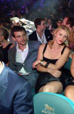 CLAIRE DANES at Showtime VIP Post-fight Dinner for Mayweather vs Pacquiao