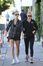 CLAIRE HOLT Out and About in West Hollywood 05/24/2015