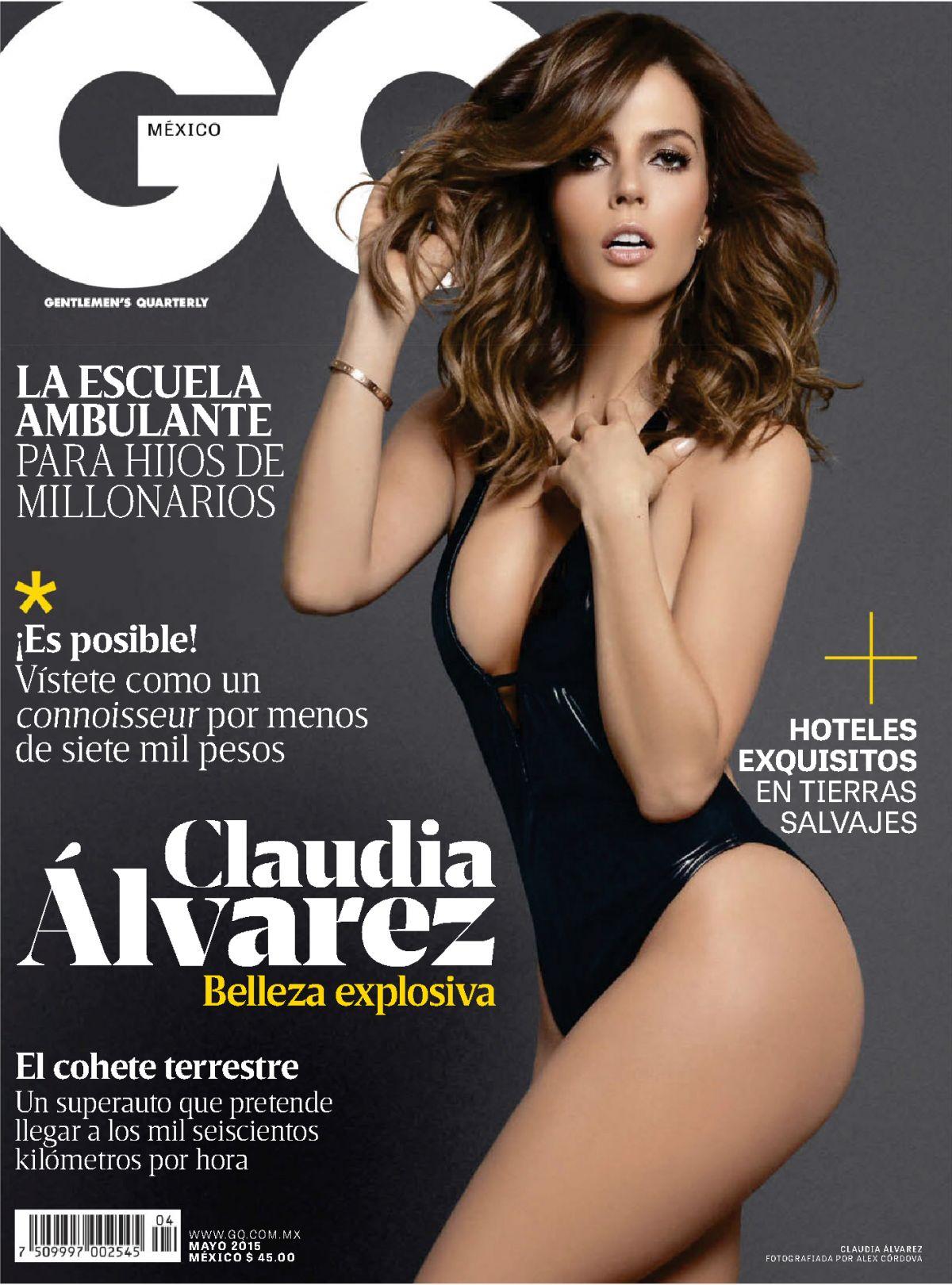 CLAUDIA ALVAREZ in GQ Magazine, Mexico May 2015 Issue