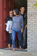 COURTNEY COX at Joel Silvers Memorial Day Party in Los Angeles