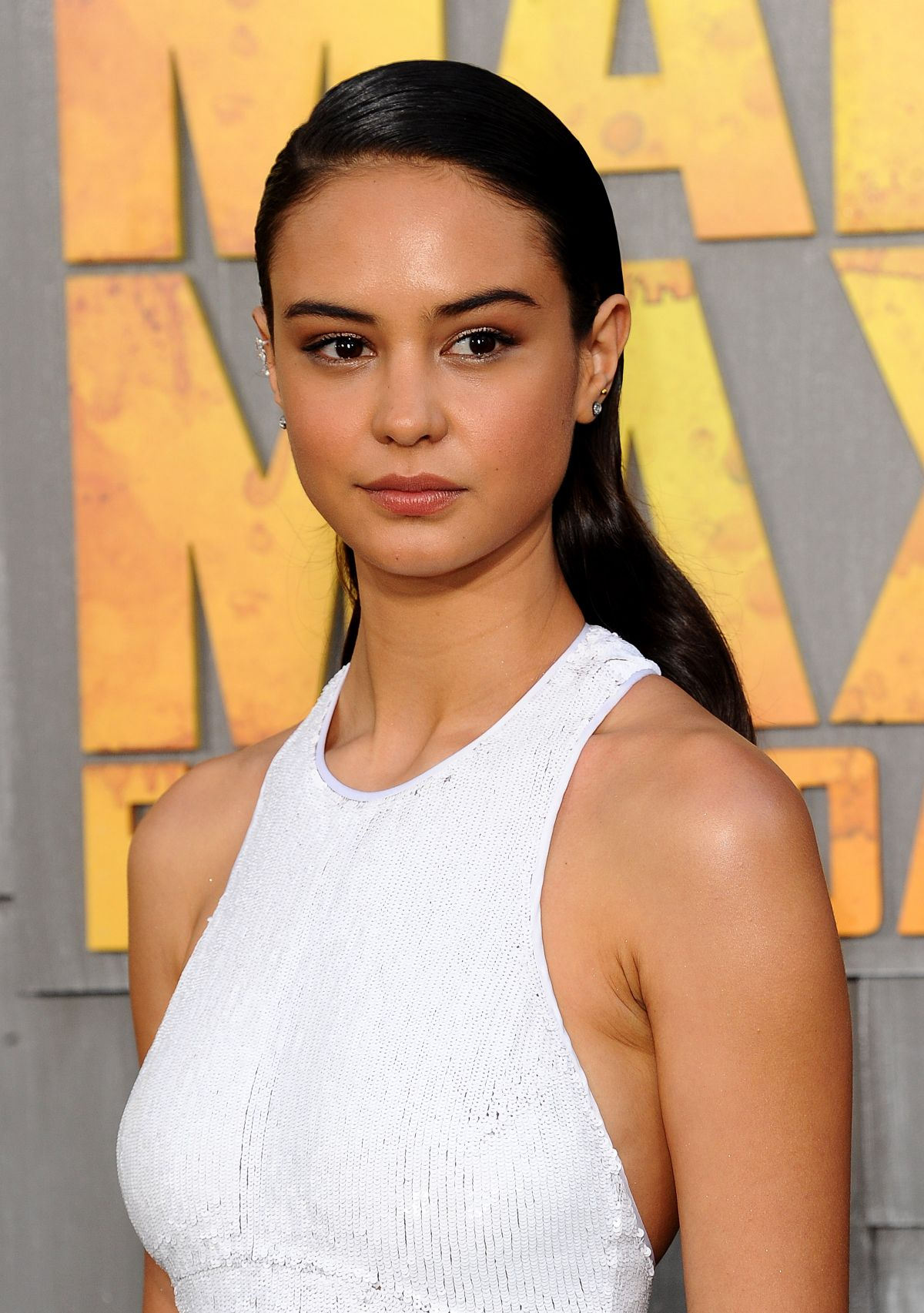 COURTNEY EATON at Mad Max: Fury Road Premiere in Hollywood