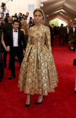 COURTNEY EATON at MET Gala 2015 in New York