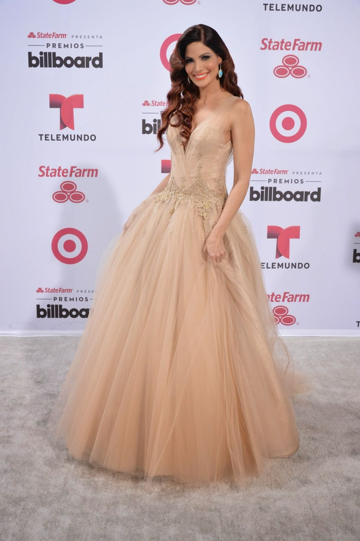 CYNTHIA OLAVARRIA at 2015 Billboard Latin Music Awards in Miami