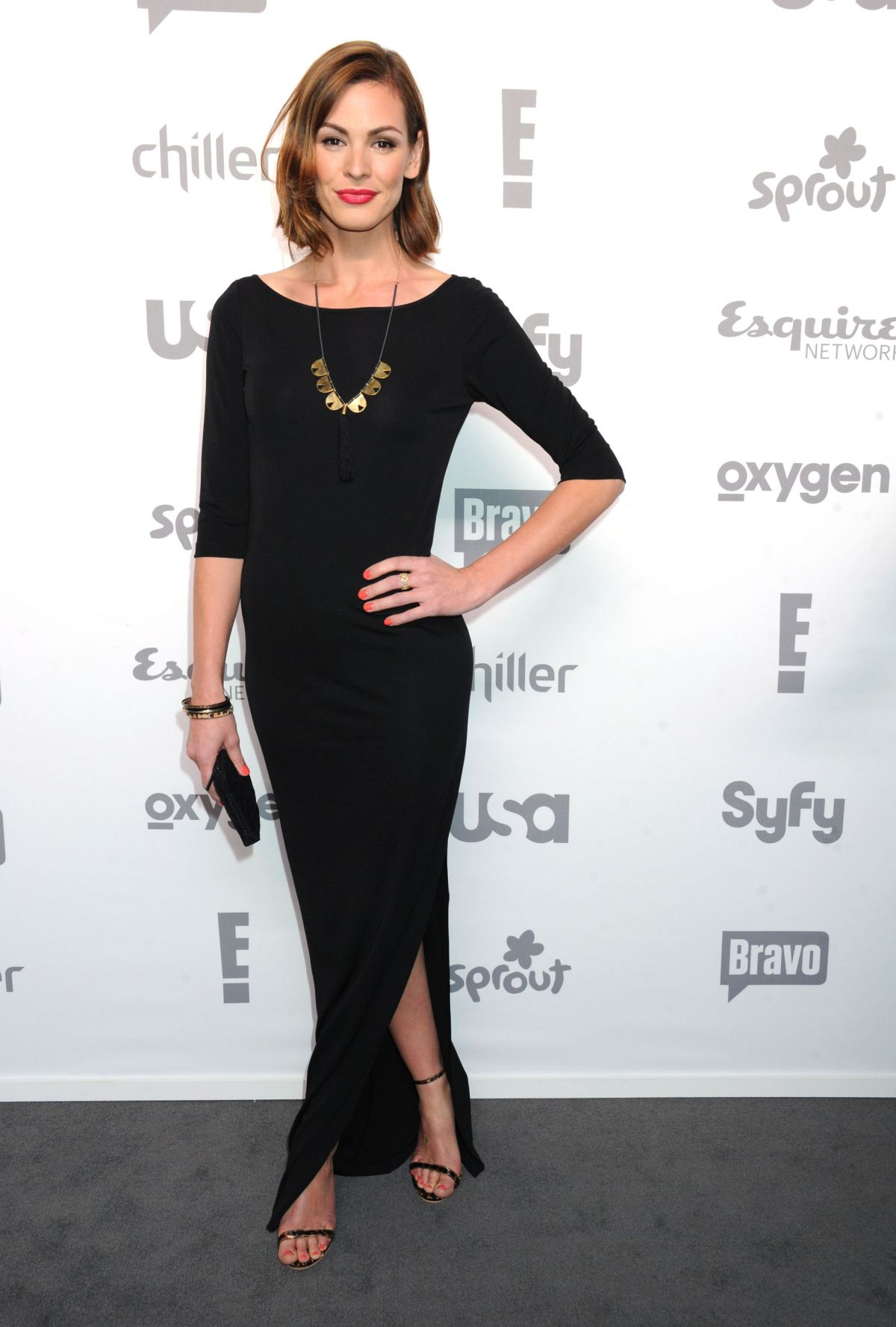 DAISY BETTS at 2015 NBC/Universal Cable Entertainment Upfront in New York