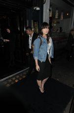 DAISY LOWE Arrives at Cafe de Paris in London 05/28/2015