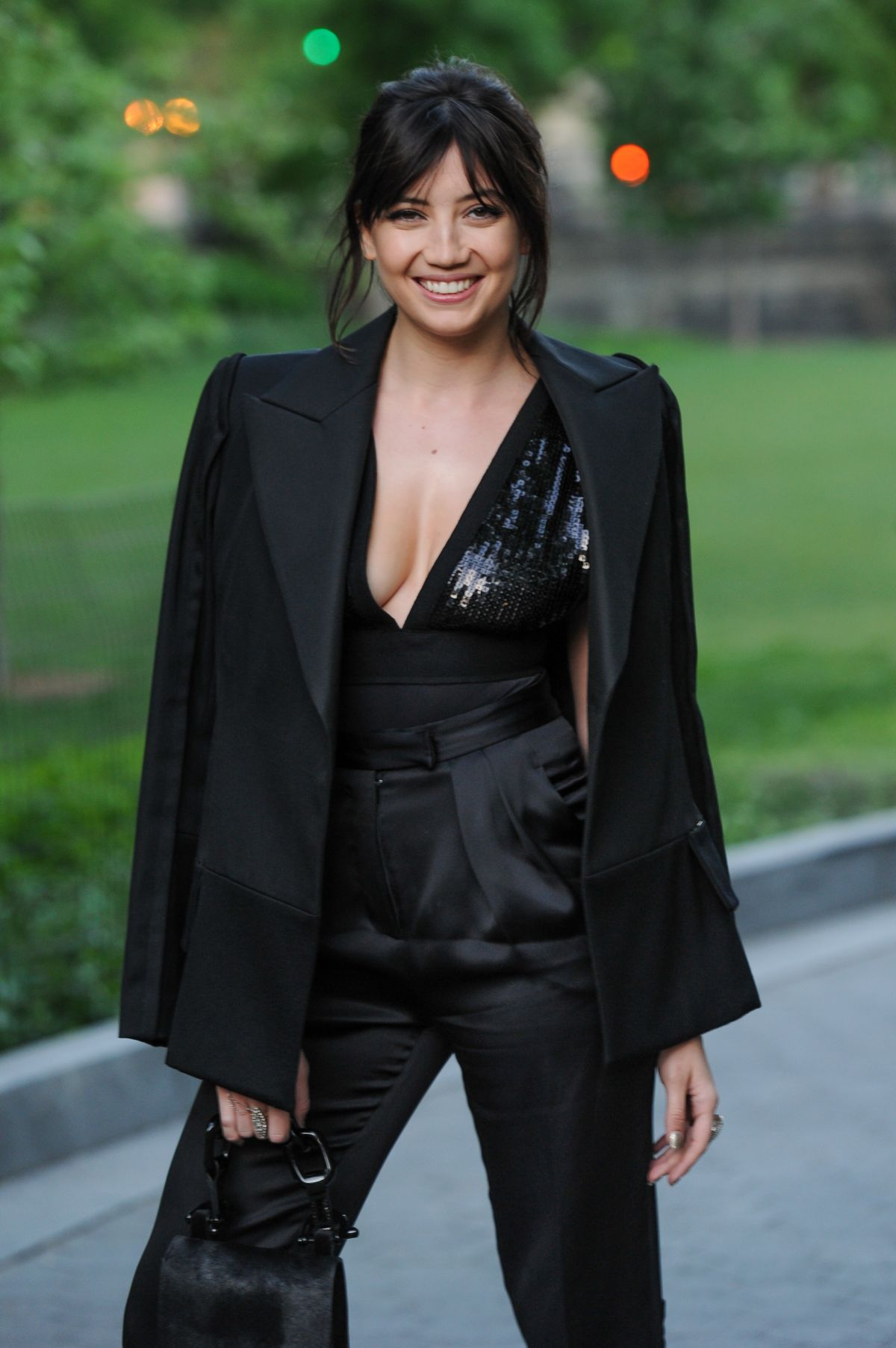 DAISY LOWE Unveiling of Creative Time's Drifting in Daylight: Art in Central Park in New York