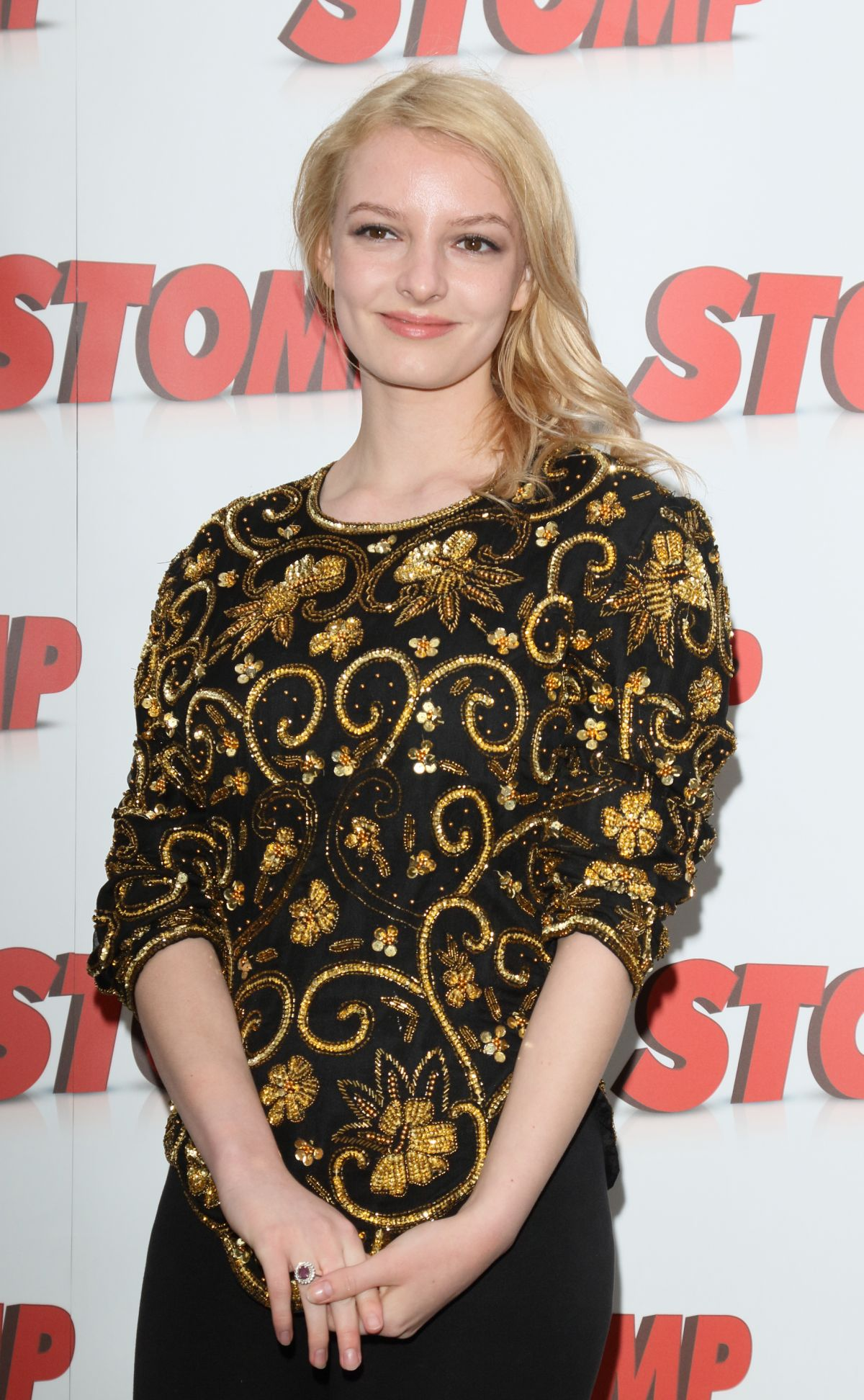 DAKOTA BLUE RICHARDS at Stomp 13th Birthday Gala Night