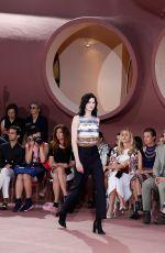 DAKOTA FANNING at 2016 Dior Cruise Fashion Show in France