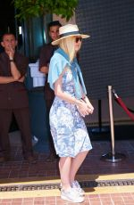 DAKOTA FANNING Out and About in Cannes 05/12/2015