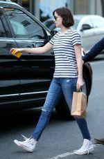 DAKOTA JOHNON Shopping at in Soho 05/26/2015