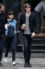 DAKOTA JOHNSON and Matthew Hitt Out in New York