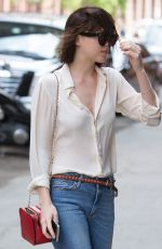 DAKOTA JOHNSON in Jeans Out in New York 05/10/2015