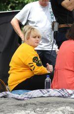 DAKOTA JOHNSON on the Set of How to be Single 05/28/2015