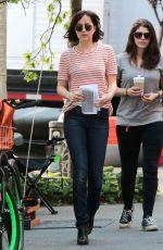 DAKOTA JOHNSON on the Set of How to be Single in Manhattan 05/26/2015
