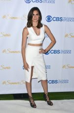 DANIELA RUAH at 2015 CBS Summer Soiree in West Hollywood
